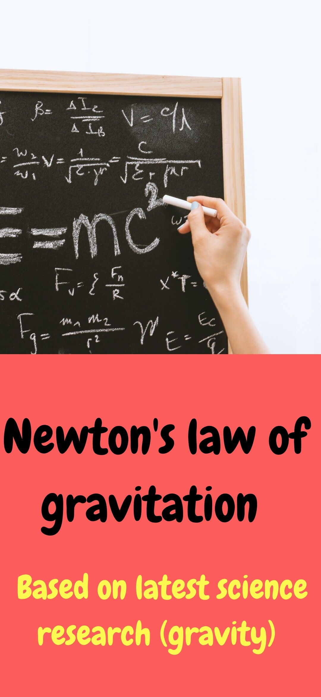 Newton S Law Of Gravitation In