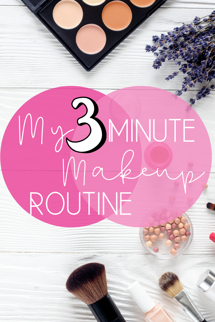 My 3 Minute Daily Morning Makeup Routine + Sharing all the