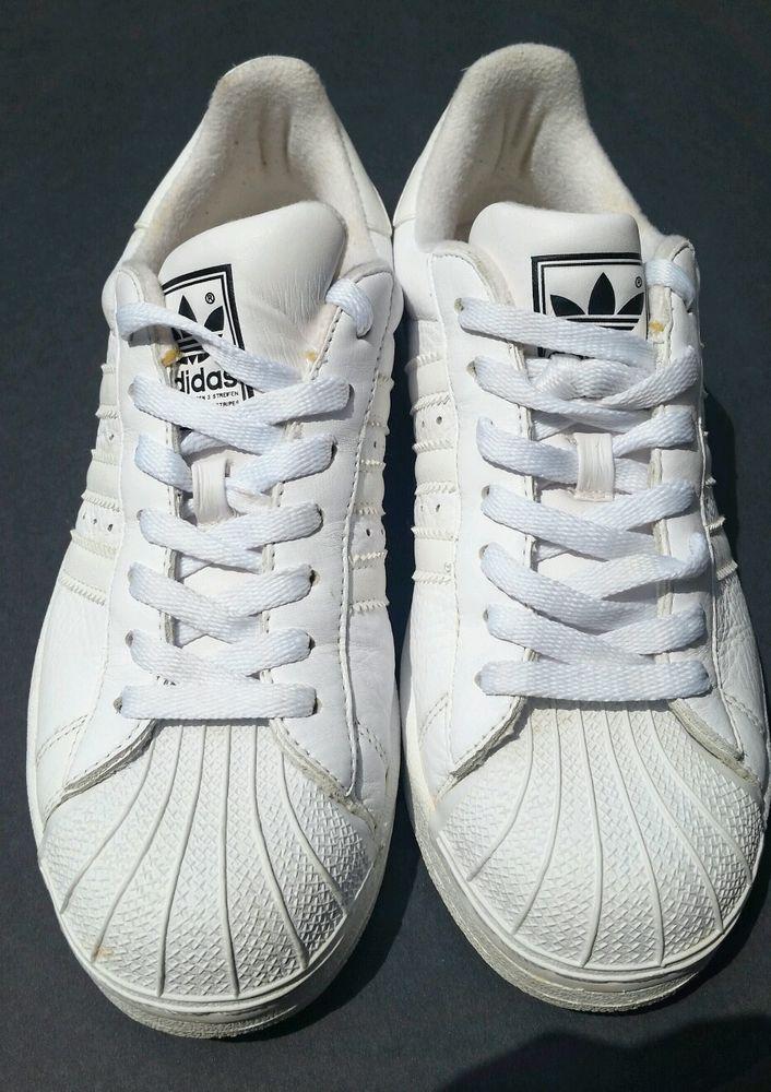 outlet store sale 5b1c9 44b65 Women White Adidas Superstar Ii Classic Shell Toe Womens Original Shoes   adidas  RunningCrossTraining