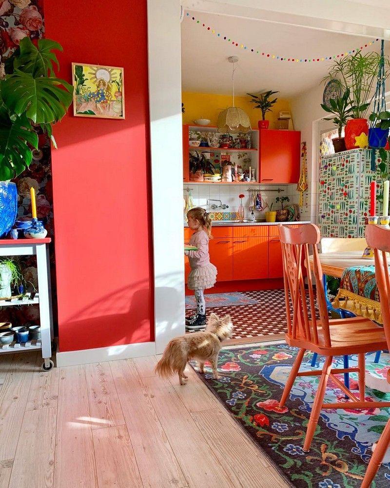10 Boho Chic Kitchen Interior Design Ideas: Bohemain Stylish Home Decoration