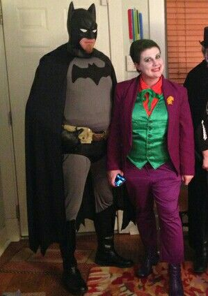 Batman and Joker Halloween