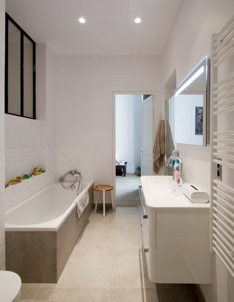Appartement Amsterdam, Paris Salle de bains FELD Architecture