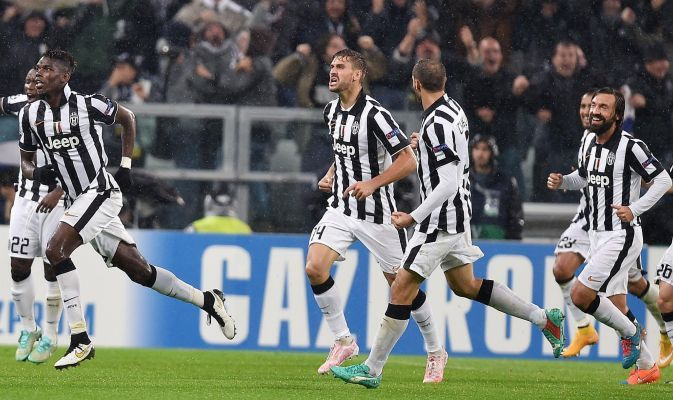 Soccer: Champions League; Juventus-Olympiacos
