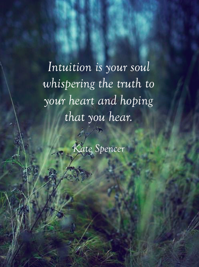 17 Inspiring Quotes For Trusting Your Intuition — Amanda