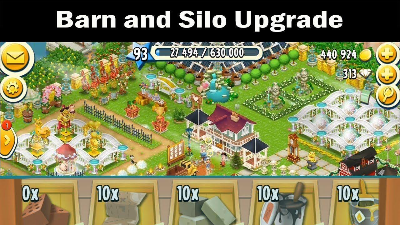 Hay Day - Barn and Silo Upgrade