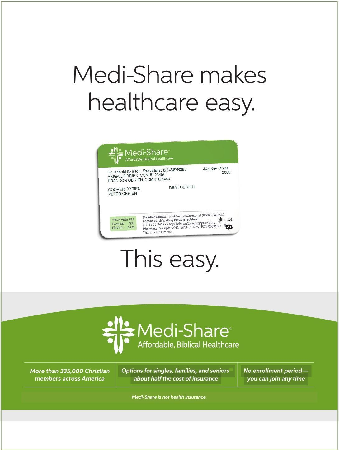 Looking for an alternative to the high cost of health