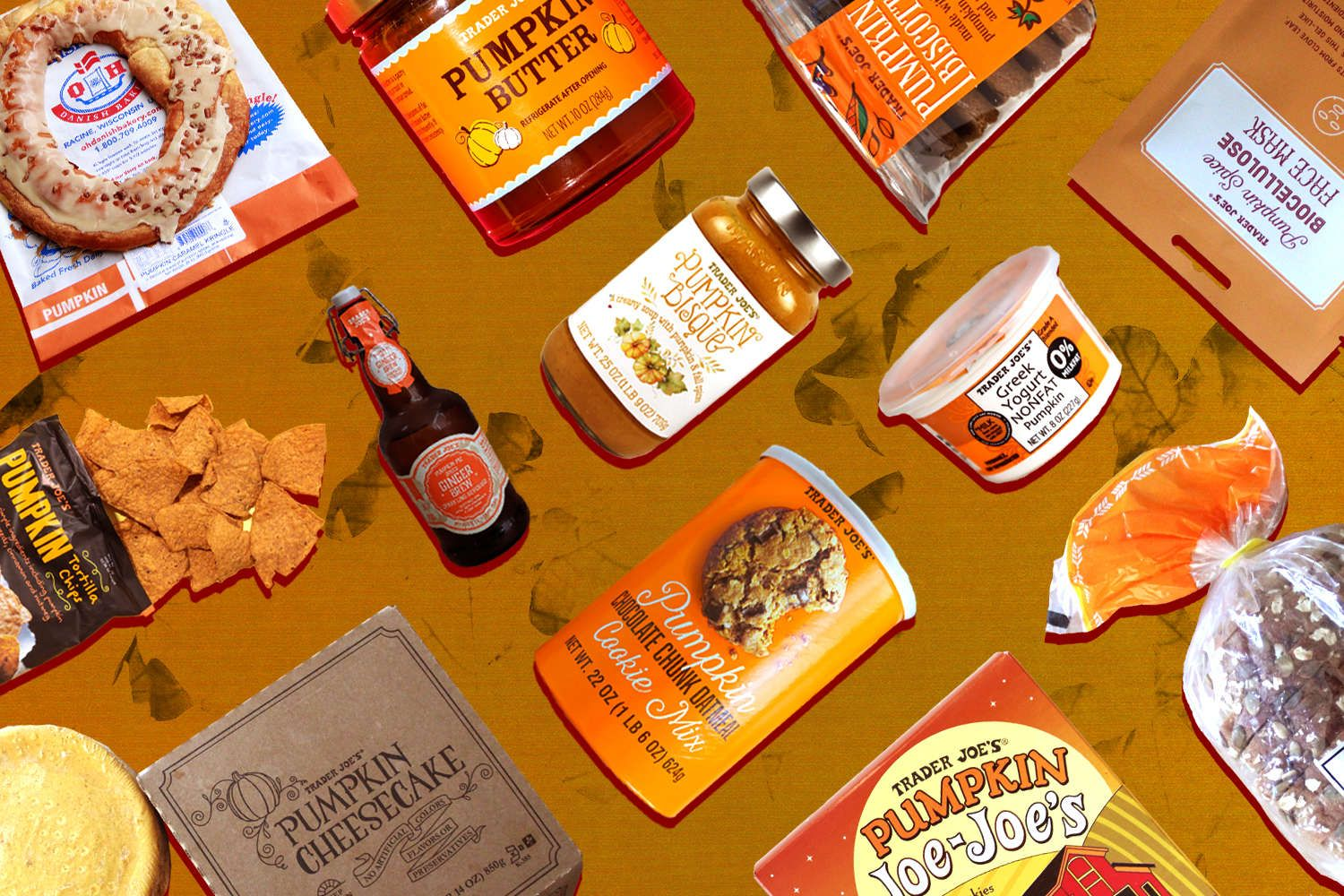 Best Trader Joe's Pumpkin Foods and Products to Buy This