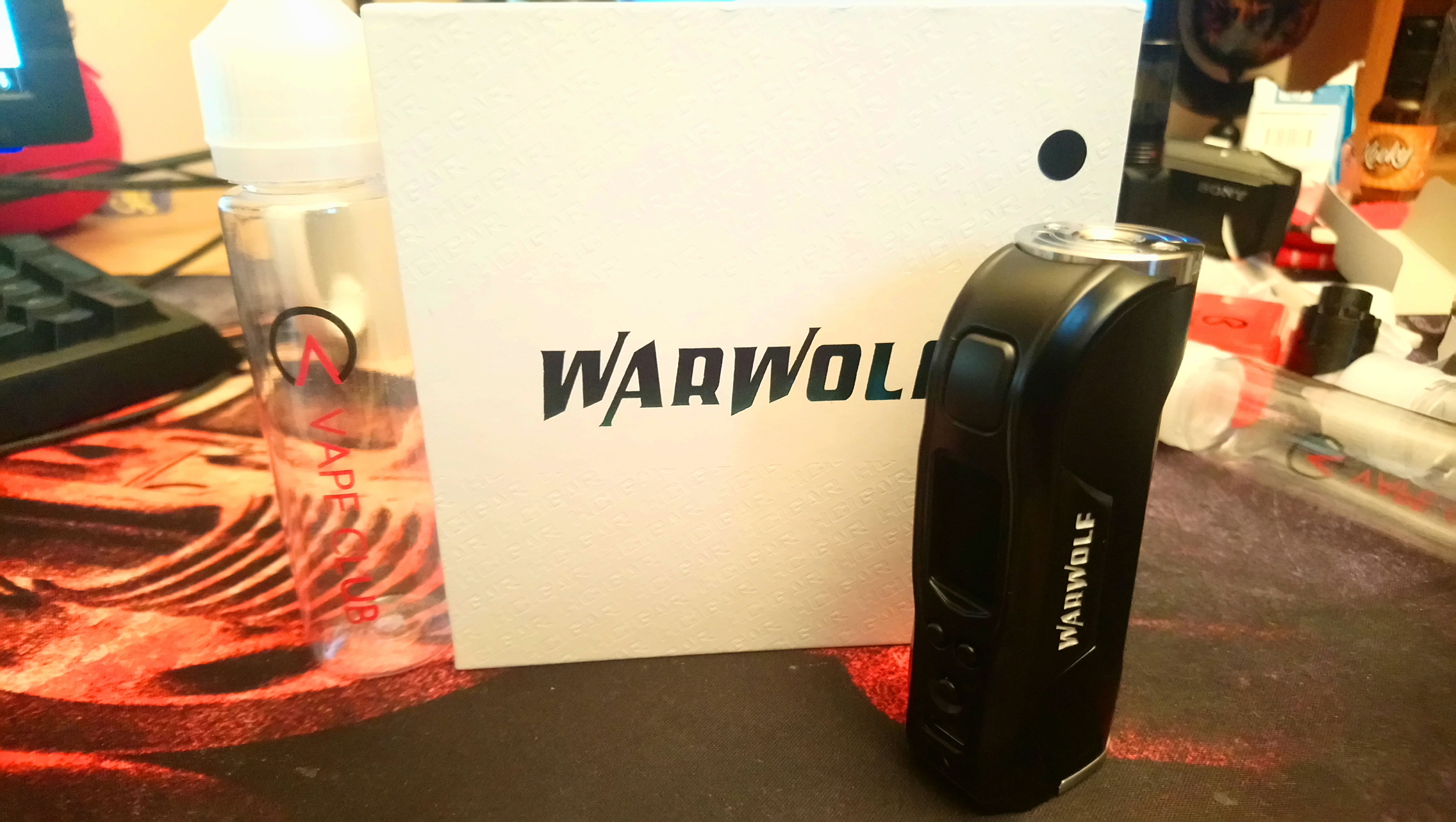 Just in from Vape Club UK    the WarWolf from HCigar    | Electronic