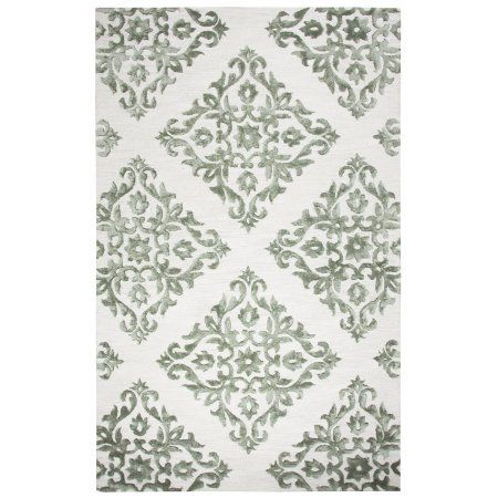 Rizzy Home Eden Harbor Collections EH110A 9' x 12' Area Rugs, Gray