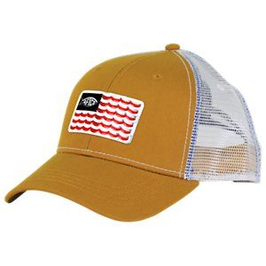 85dbce7ce617a5 AFTCO Canton Trucker Cap - Camel | Products in 2019 | Cap, American ...