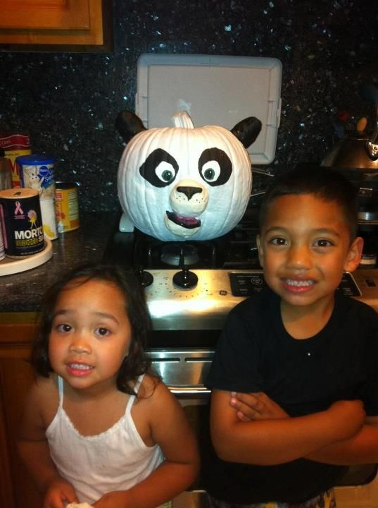 kung fu panda pumpkin - Kung Fu Panda Halloween