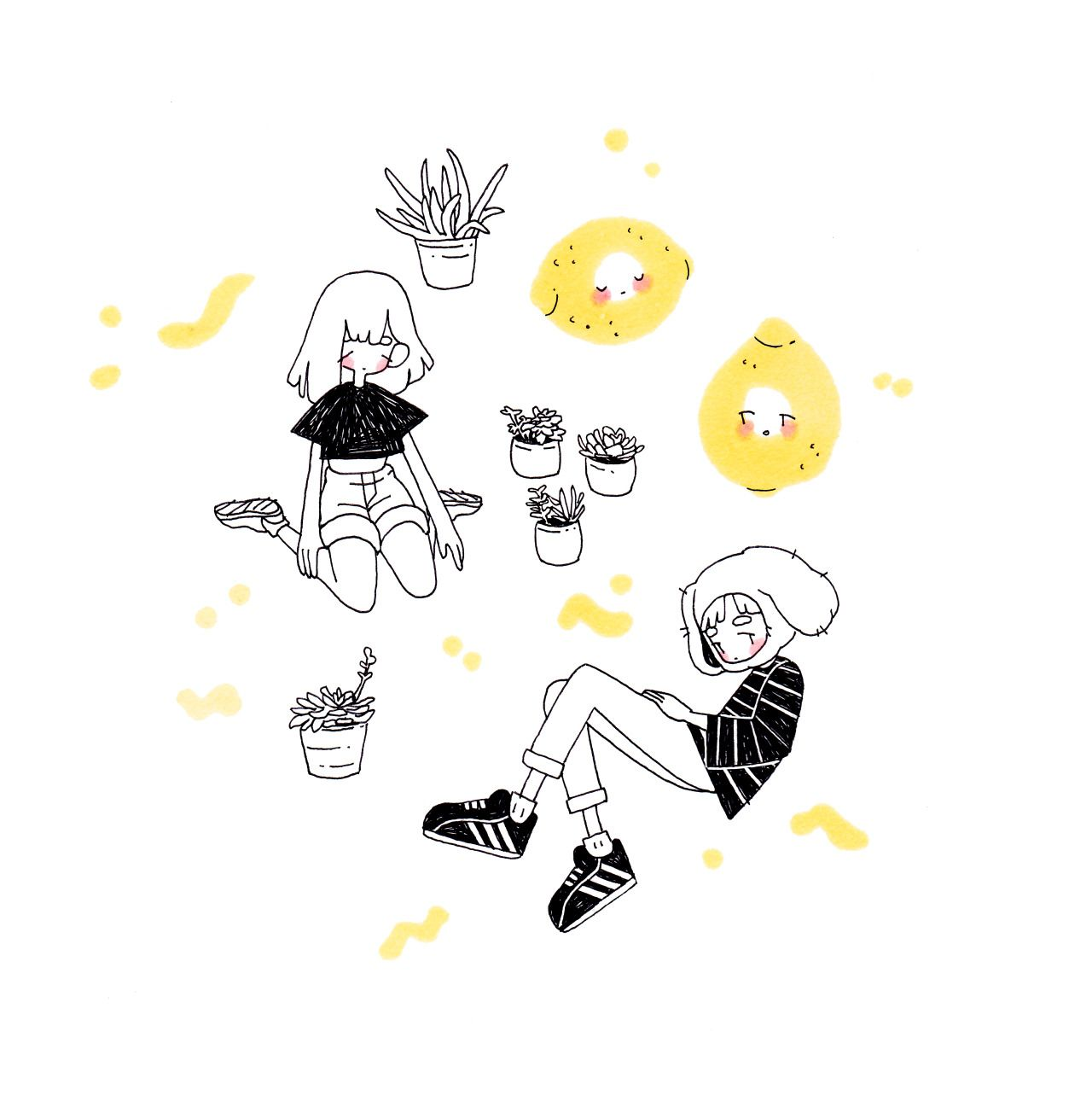 Aesthetic cute drawing Art Inspo Photo Lemon Drawing Aesthetic Drawings Tumblr Art Decoration Pinterest Photo Book Zinesketchmagdoodle In 2019 Drawings Art Art