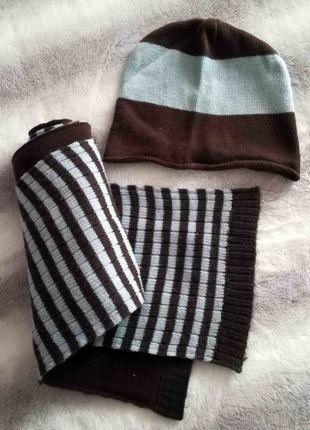 À vendre sur  vintedfrance ! http   www.vinted .fr mode-enfants filles-autre 28558316-bonnet-echarpe-okaidi-bicolore 0e8b7efb928