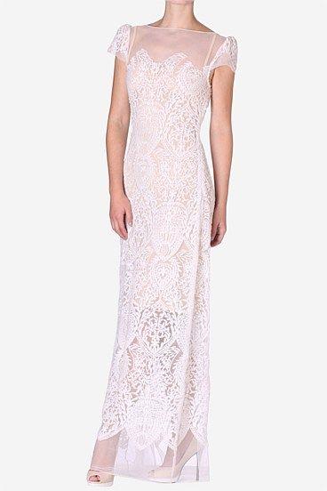 Carla Zampatti Pearl Lace Chateau De Versailles Gown Gatsby