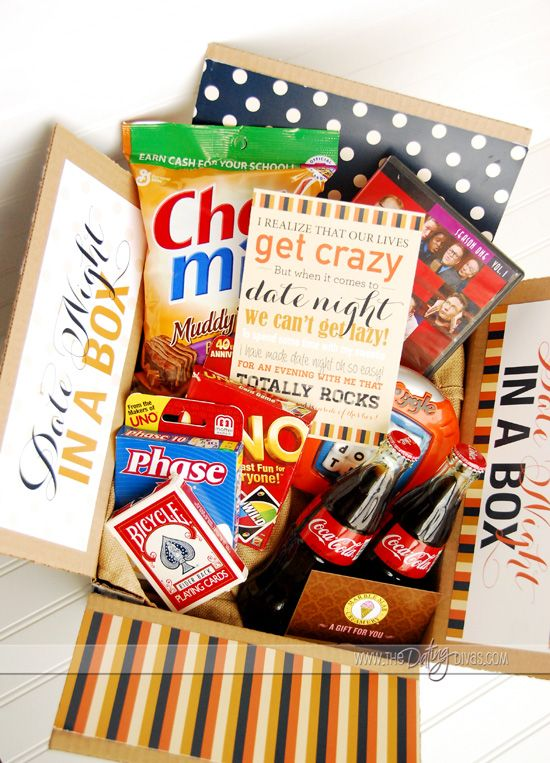 Date Night Basket or Box - From The Dating Divas