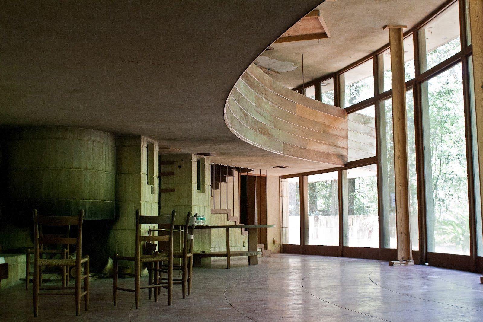 abandoned spring house in tallahassee florida by frank lloyd wright geb ude pinterest. Black Bedroom Furniture Sets. Home Design Ideas