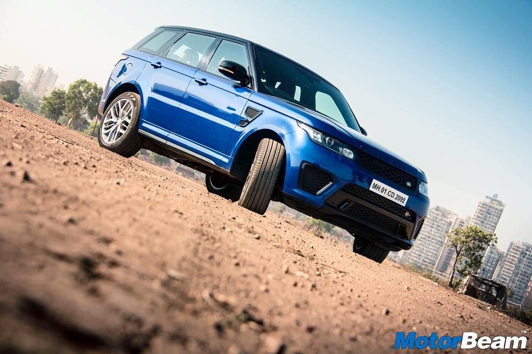 The RangeRover Sport SVR is one mad SUV! MotorBeam