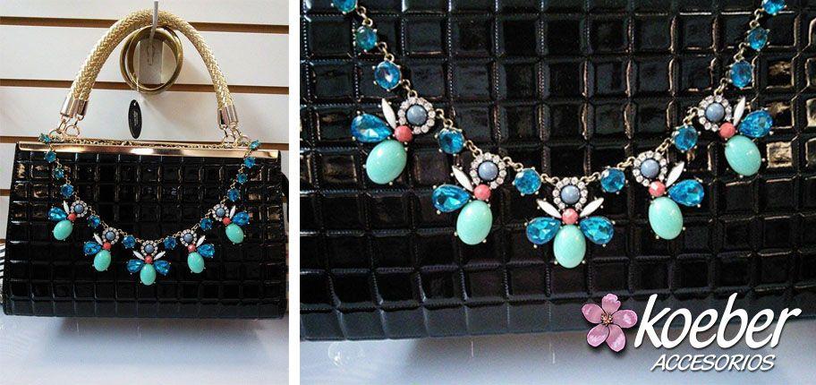 Luce a la moda con este hermoso maxi collar!!!
