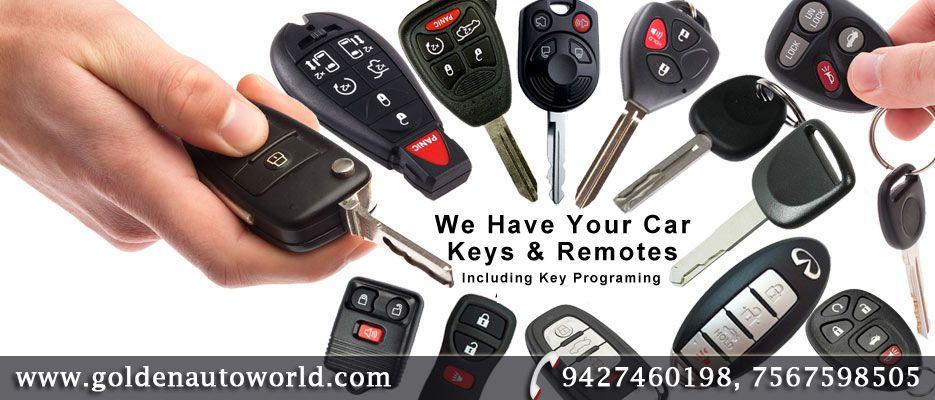 Golden Auto World Manufacturer Of Carkey Computerized Duplicate Car Key Makers In Vadodara Gujarat India Car Key Replacement Automotive Locksmith Key