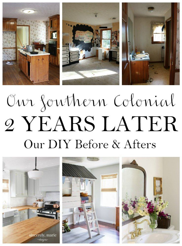 Our Southern Colonial - Two Years Later | Colonial home ...