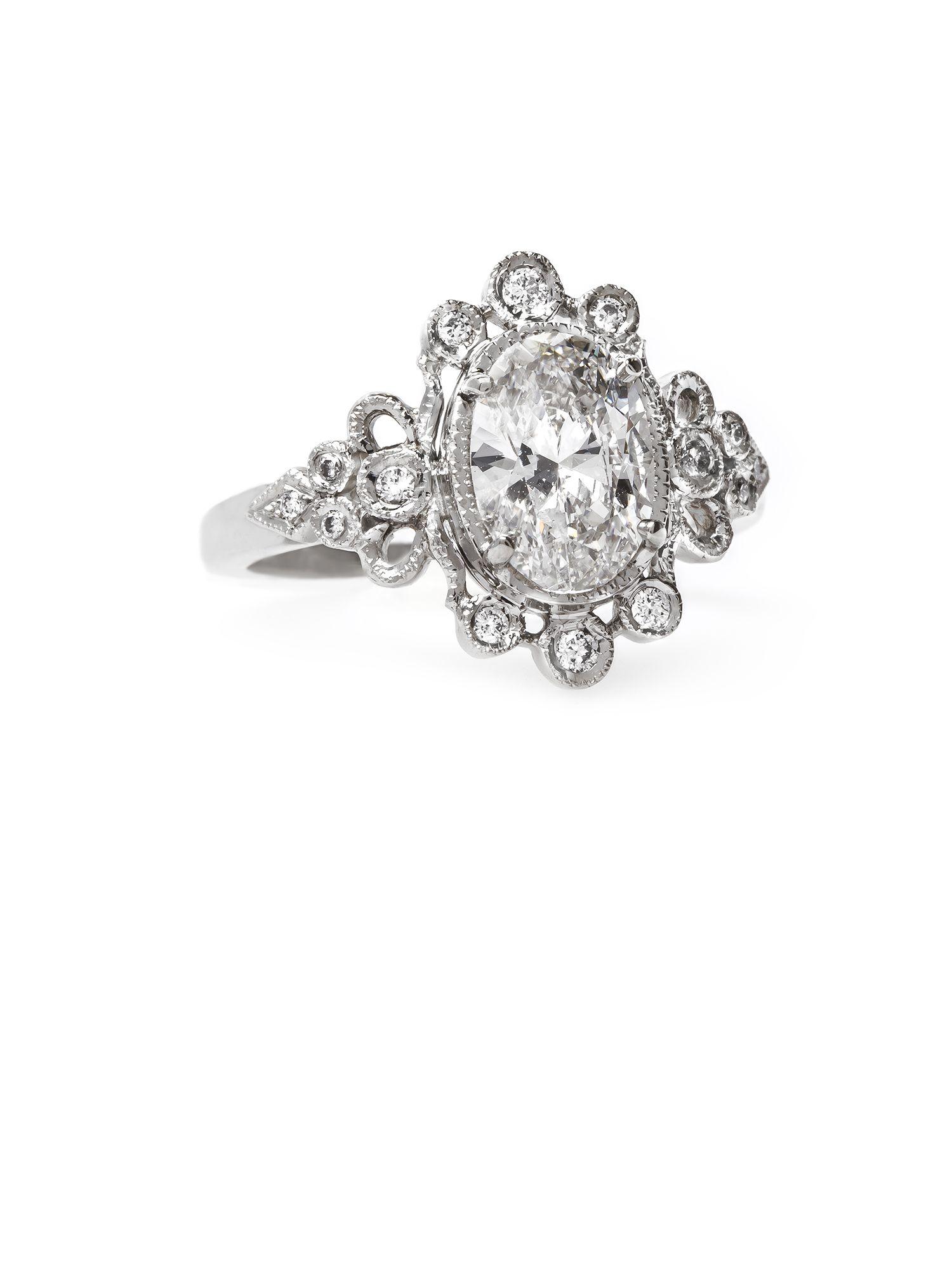 Gorgeous Vintage Engagement ring from @BridalPulse Wedding Ring ...