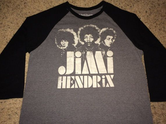 Sale Vintage JIMI HENDRIX T-shirt music band tee by casualisme