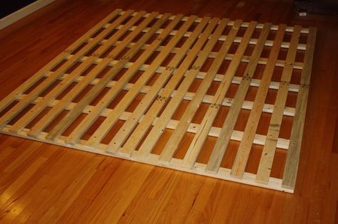 Best How To Make A Cheap Low Profile Wooden Bed Frame Wooden 400 x 300
