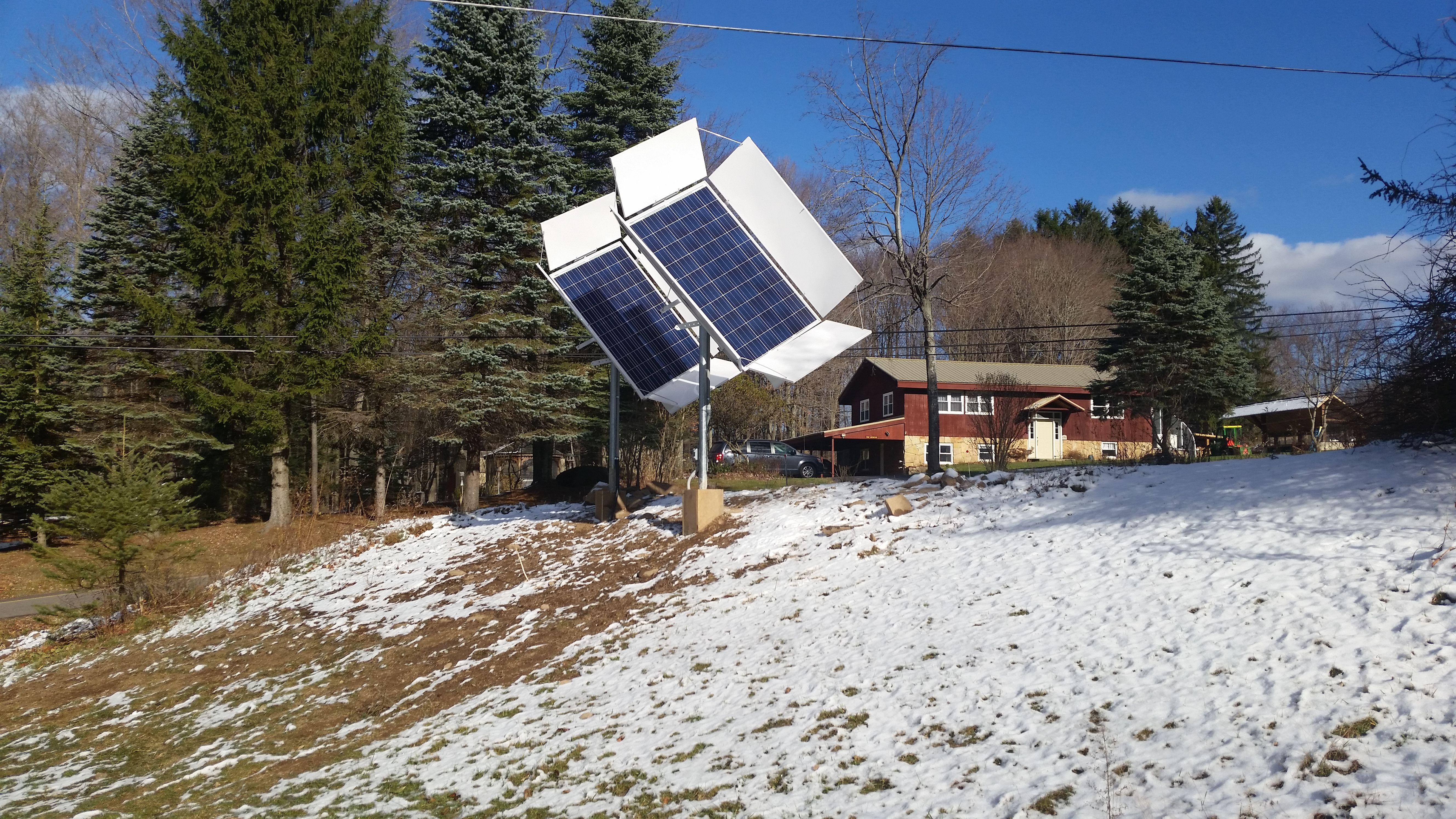 Residential Ground Mount Solar Systems That Tracks The Sun Solar Solar Tracker Sustainable Energy
