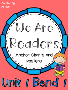 We are readers anchor charts and posters also super kindergarten pinterest rh