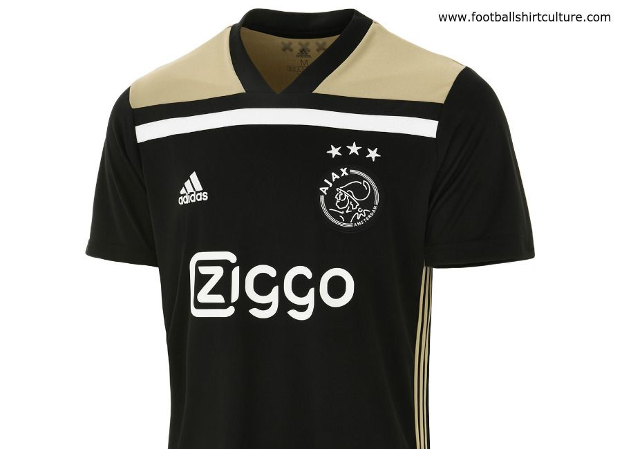 This is the new Ajax 18 19 Away football shirt by Adidas. The new away kit  will be used during the 2018–19 Eredivisie season. 8e1c3faa6223e