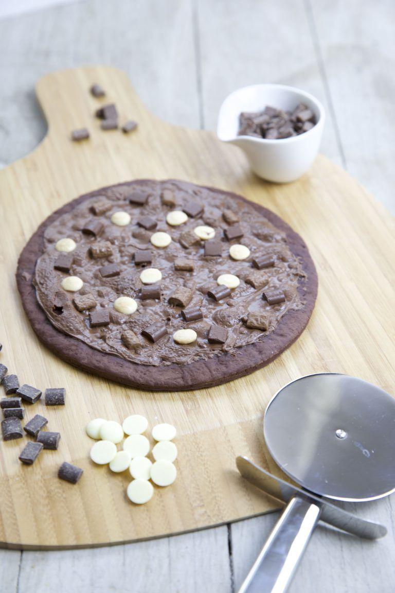 Süße Schokoladenpizza Rezept Kuchen Schokoladen Pizza Pizza