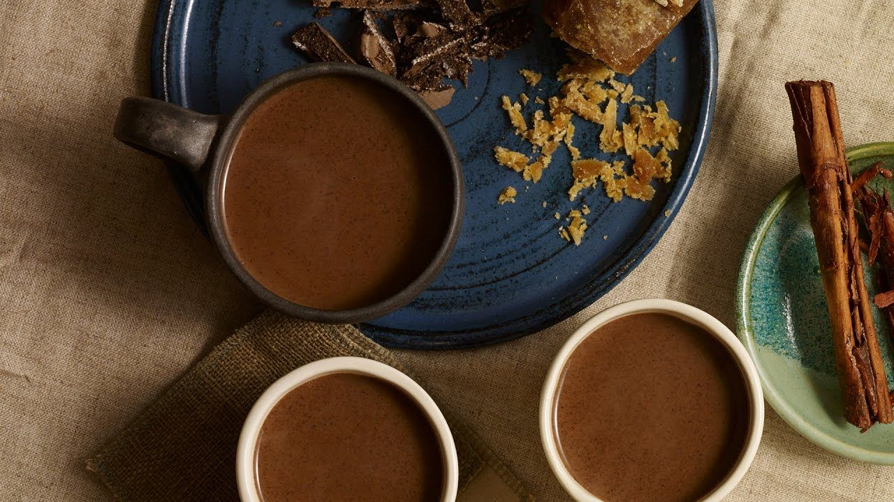 Champurrado or Chocolate Atole is loved throughout Mexico. It is a hot chocolate drink with a corn masa base and flavored with piloncillo and cinnamon. Here's how I make mine...