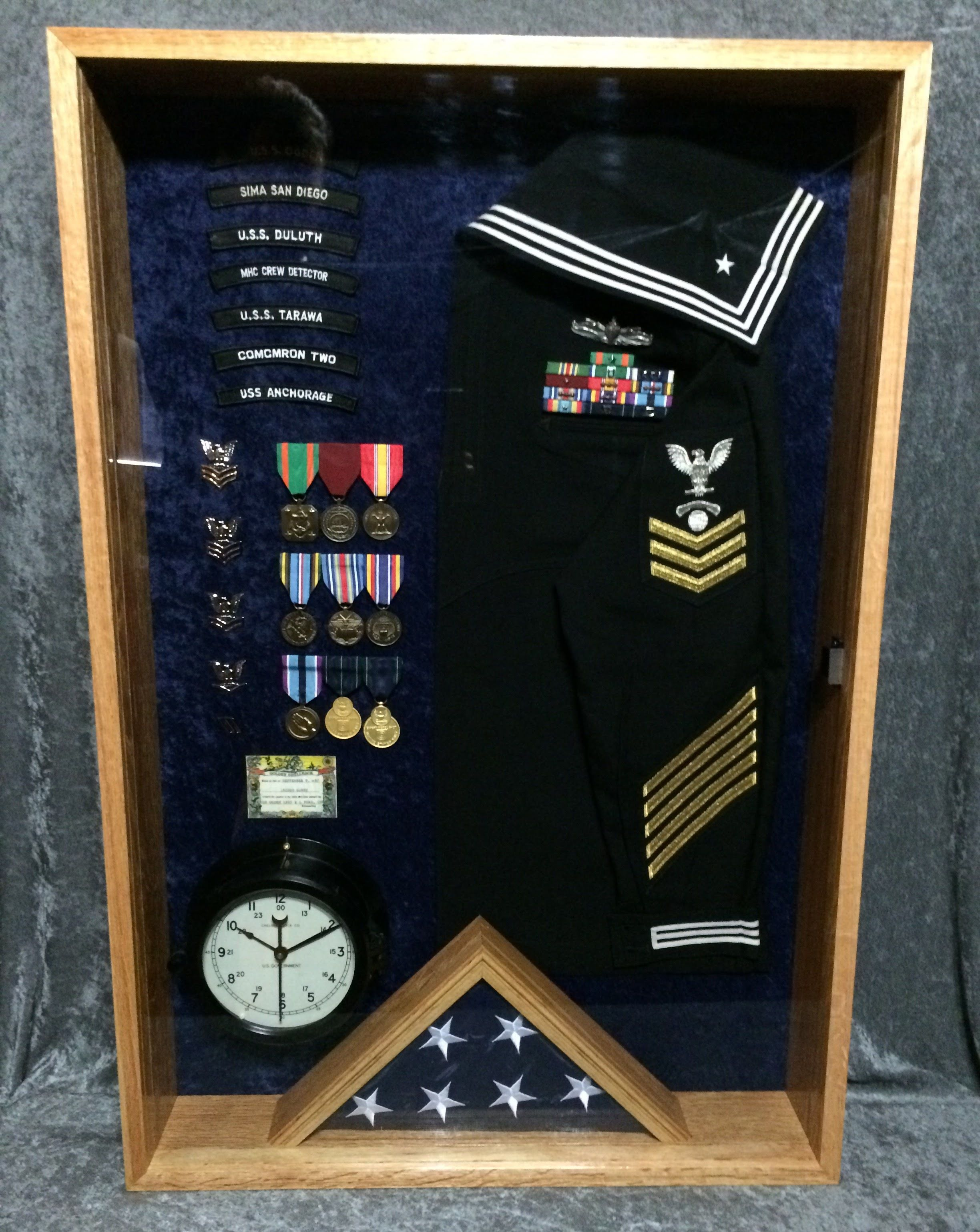 us navy shadow box questions on design or price contact us navy shadow box questions on design or price contact lunawood1775 gmail com
