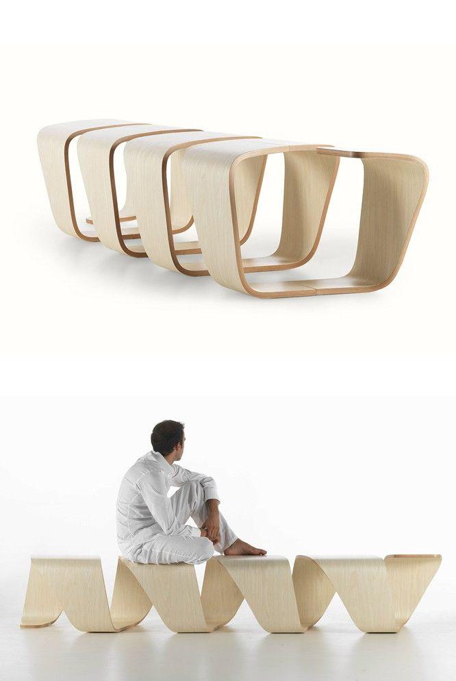 Dna Bench By True Design Design Leonardo Rossano Debora