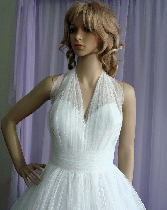 Plus Size. Emma Gorgeous Retro Style Wedding by EllanaCouture