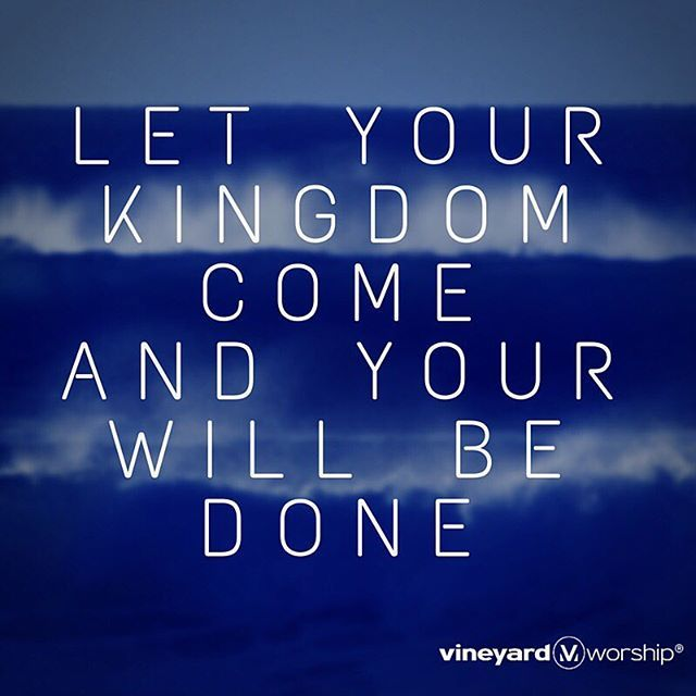 """""""Let Your Kingdom Come"""" from ALL THINGS RISE. #allthingsrise #kingdomcome #vineyardmusic http://ow.ly/WCF0G"""