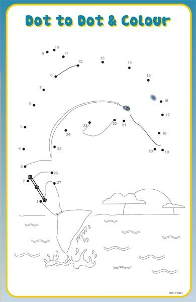 Winter Dolphin Tale Coloring Pages