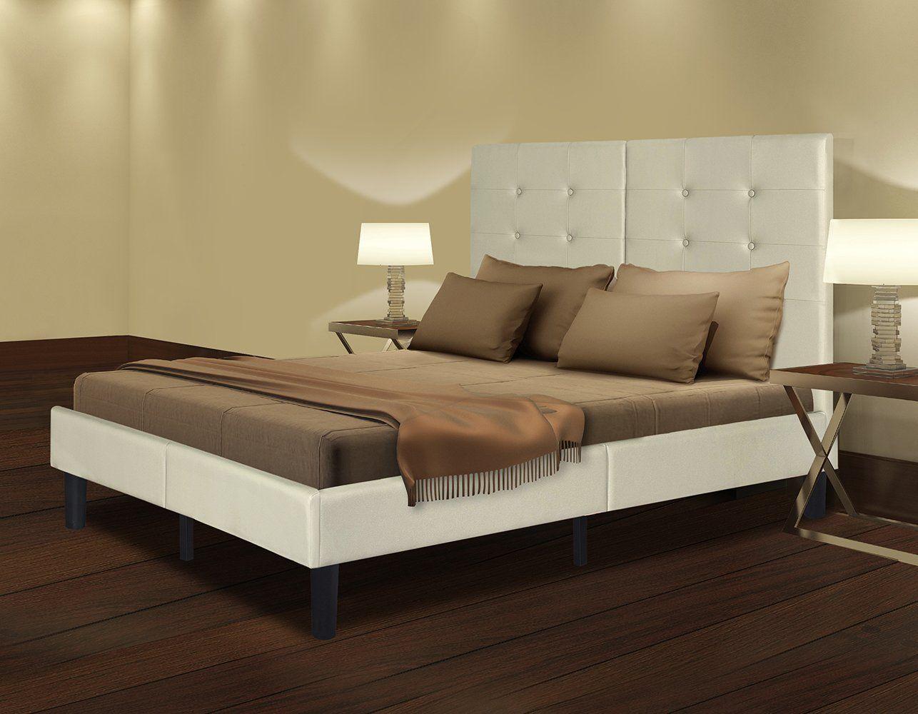 Olee Sleep Faux Leather Wood Slate Folding