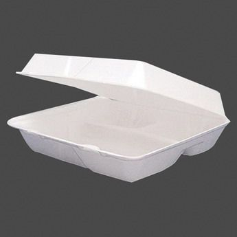 Dart Three Compartment Styrofoam To Go Food Container Catering