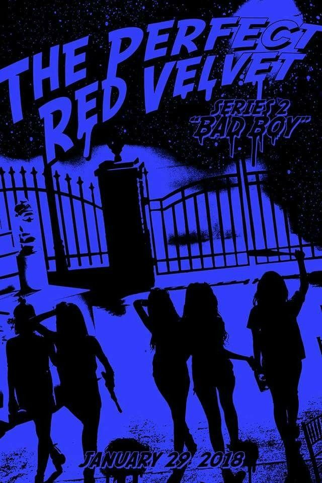 Bad boy wallpaper red velvet