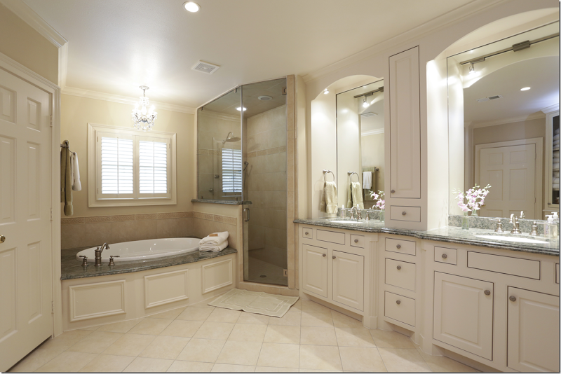 Example Of How To Break Up A Long Vanity Small Bathroom Makeover Beautiful Bathrooms Amazing Bathrooms
