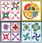 @vickie, check this out...quilled quilt blocks...