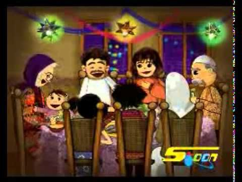 Nasheed Welcome Ramadan Animated For Kids اغنية اهلا اهلا يارمضان Cartoon Mickey Mouse Kids Tv