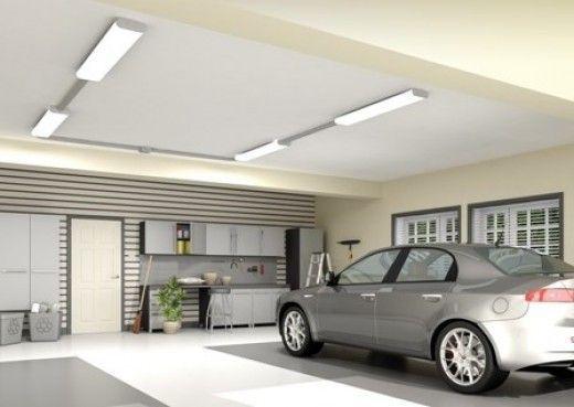 Illuminazione garage apparecchi di illuminazione a tenuta stagna