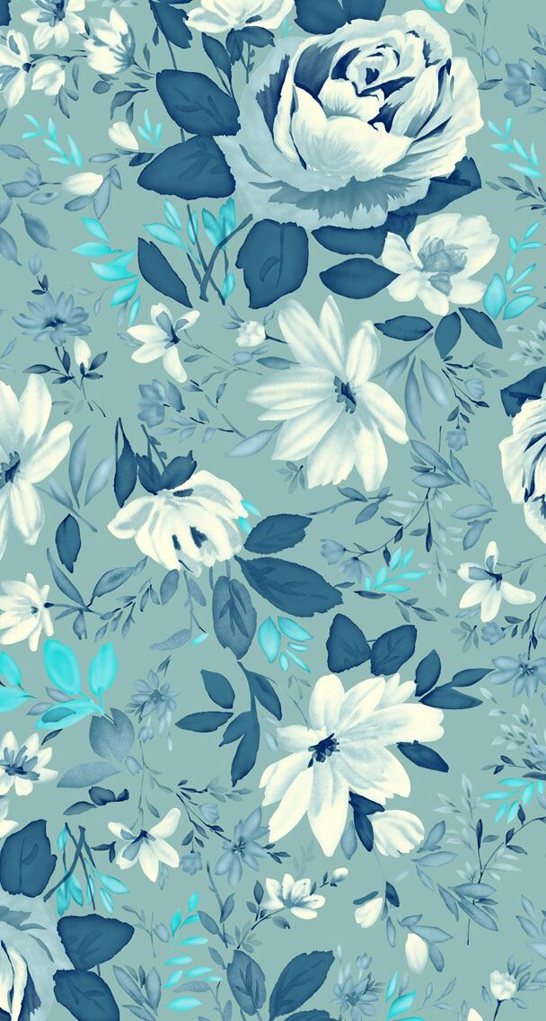 Pin by Tiffany Flickinger on Backgrounds   Blue flower ...