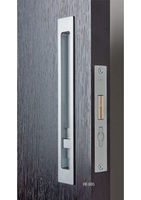 HB695 Series Sliding Door Privacy Lock   250mm