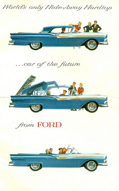 1957 Ford Fairlane 500 Skyliner Retractable Convertible With