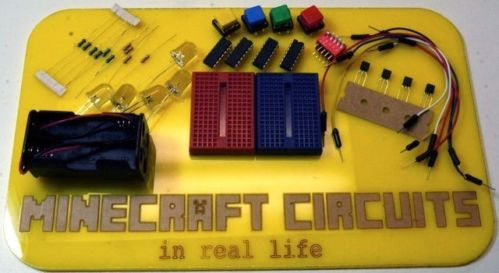 Minecraft Circuits in Real Life Kit | eBay