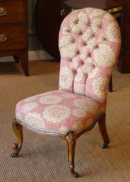 Small antique walnut button back chair : Antique Armchair UK . - Small Antique Walnut Button Back Chair Armchairs Uk, Armchairs And