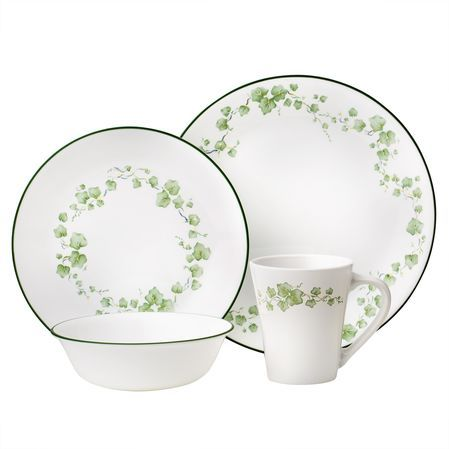 #Corelle Impressions™ Callaway 16-pc Dinnerware Set - An elegant floral design in  sc 1 st  Pinterest & Corelle Impressions™ Callaway 16-pc Dinnerware Set - An elegant ...